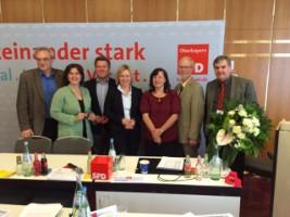 Geschäftsführender SPD-Bezirksvorstand 2015