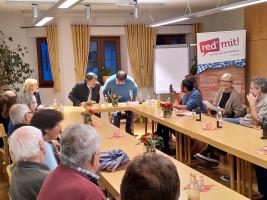 Rege Diskussionen und intensiver Austausch