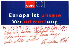 Christian Udes Botschaft für Europa