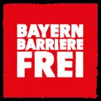 """Logo """"Bayern Barrierefrei"""""""