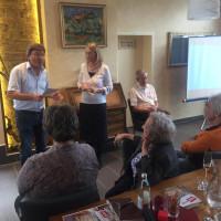 Angeregte Diskussionen, u.a. mit Zornedings 3. Bürgermeisterin Bianka Poschenrieder und dem Fraktionschef unserer Kreistagsfraktion Albert Hingerl