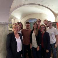 Wir bedanken uns bei: Magdalena Wagner (unsere Kandidatin), Olaf Scholz (unserem Kanzlerkandidaten), dem Wahlkampfteam und alle Wähler/innen