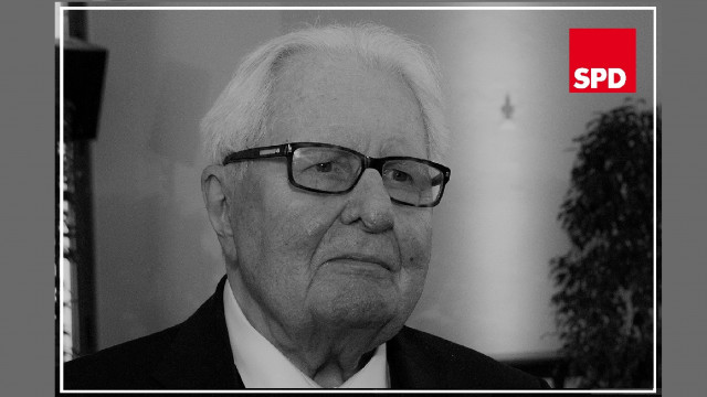 Hans-Jochen Vogel (Bild vom 90. Geburtstag)
