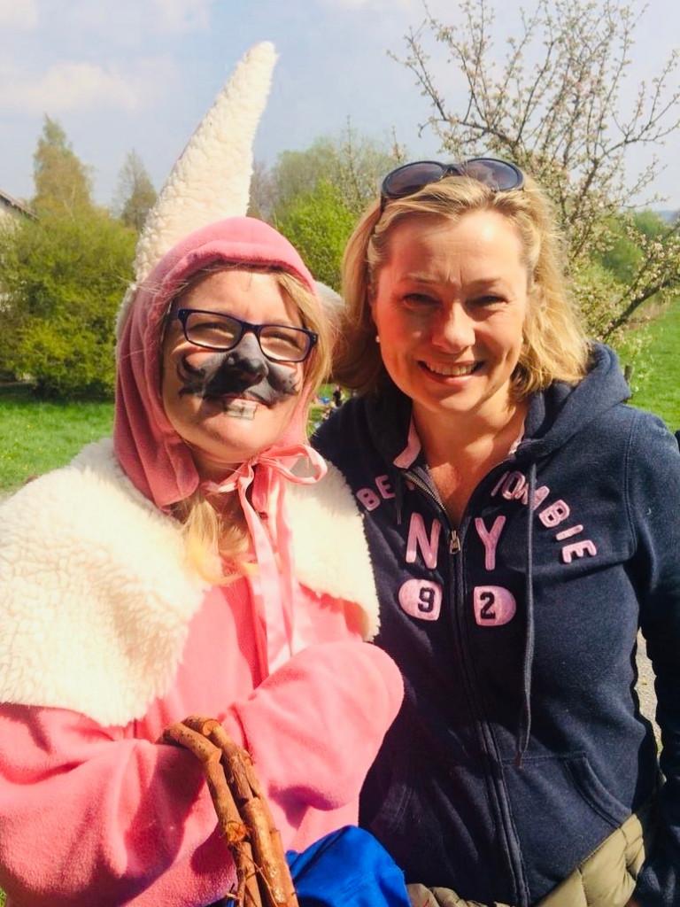 Frohe Ostern bei herrlichem Wetter wünscht unsere Landtagsabgeordnete Doris Rauscher!